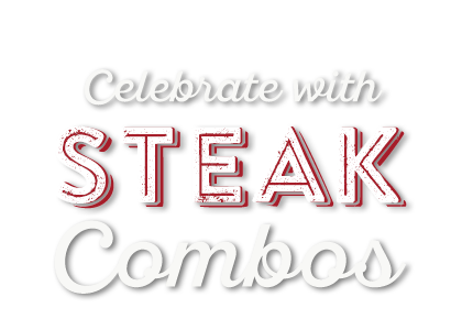 Celebrate with Steak Combos Overlay 2020